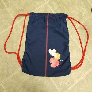 Nike Drawstring Hawaiian Style Bag Shoe Backpack